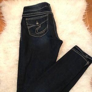 Silver blue Jeans 👖